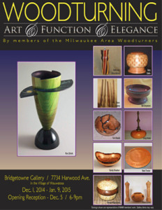Bridgetown woodturning post