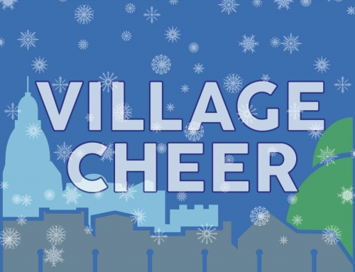 Don't miss the Holiday Tree  Lighting and Village Cheer Celebration Friday, Dec. 9th